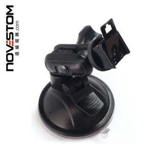 Suction-cup Bracket for body worn cameras