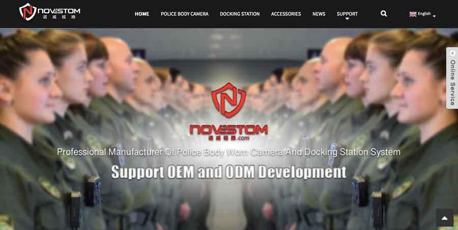 Novestom Website