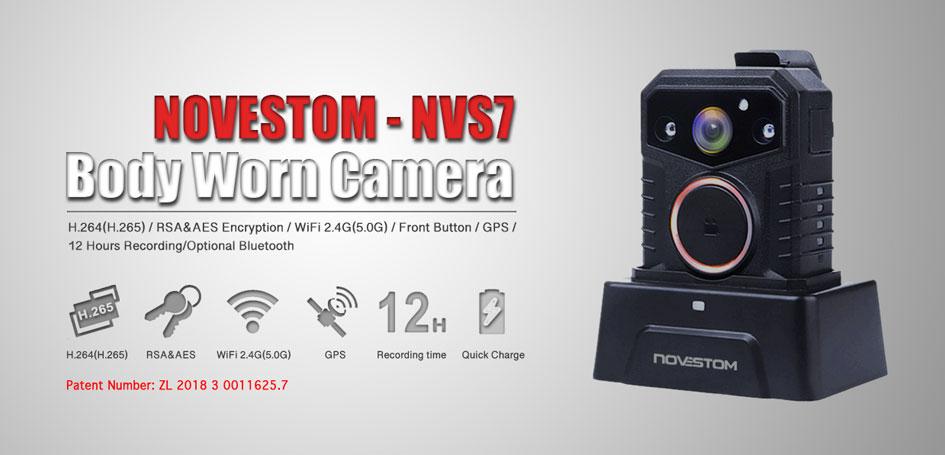 Паліцыя Стыль камера зношанай бяспекі NVS7-цела