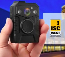 Novestom body worn cameras at ISC WEST Apr.10 – Apr.12, 2019.