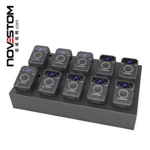 NVS10-A 10Ports desktop docking station for all police body worn cameras