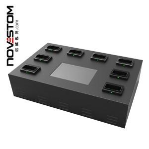 NVS10-C de la pantalla táctil de 7 pulgadas 8 puertos estación de acoplamiento para cámaras usadas cuerpo