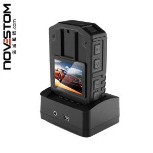 NVS4 órgão de polícia câmeras desgastado com built-in 4G WiFi GPS opcional