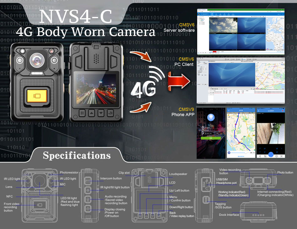 NVS4-C-body-worn-camera