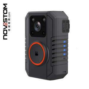 NVS4-D 4G LTE Real-time Streaming No Screen body worn cameras with 4G WIFI 2.4-5G Bluetooth GPS AES256 SOS tracking PTT intercom